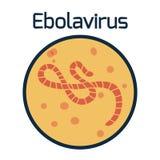 Het virus van Ebola Royalty-vrije Stock Foto