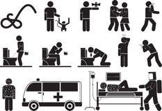 Het virus van Ebola Stock Fotografie