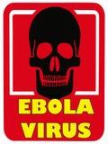 Het Virus van gevaarsebola - Dodelijke Ziekte Stock Foto