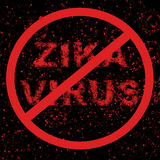 Het virus van zegelzika Stock Foto's