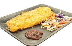 Het vissenlapje vlees Dolly Stock Foto's
