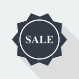 het vlakke ontwerp van de verkoopkorting Royalty-vrije Stock Foto