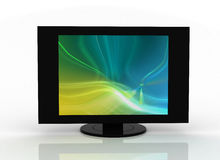 Het vlakke plasma van TV lcd Stock Fotografie