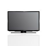 Het vlakke scherm lcd van TV Royalty-vrije Stock Afbeelding