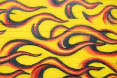 Het vlammen Stock Fotografie