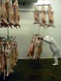 Het vlees op gaat Royalty-vrije Stock Foto's