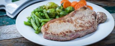 Het vlees van Angus Royalty-vrije Stock Afbeeldingen