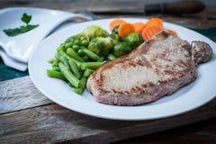 Het vlees van Angus Stock Afbeeldingen