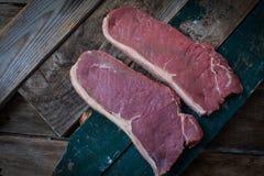 Het vlees van Angus Stock Foto