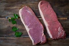 Het vlees van Angus Stock Afbeelding
