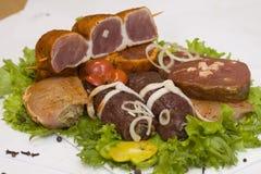 Het vlees van Backroll Stock Fotografie