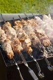 Het vlees van de barbecue Stock Foto