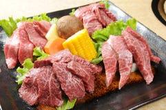 Het vlees van de barbecue Royalty-vrije Stock Afbeeldingen