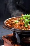Het vlees van de hutspot Stock Fotografie