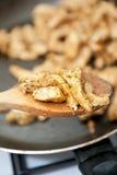 Het vlees van de kip Stock Foto