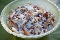 Het Vlees van de krab Royalty-vrije Stock Fotografie