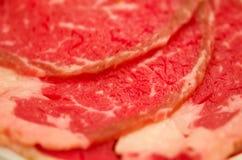 Het Vlees van de plak Royalty-vrije Stock Foto's
