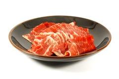 Het Vlees van de Premie van de Stroken van het Rundvlees van Wagyu royalty-vrije stock fotografie