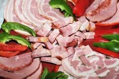 Het vlees van de specialiteit Royalty-vrije Stock Foto's