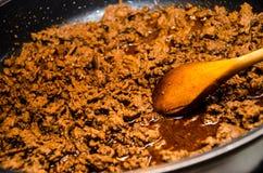 Het Vlees van de taco Royalty-vrije Stock Foto