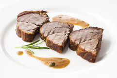 Het vlees van herten royalty-vrije stock fotografie