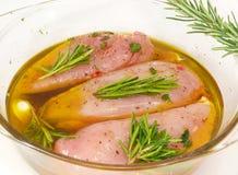 Het vlees van het gevogelte stock afbeelding