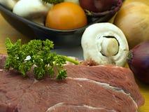 Het vlees van het rundvlees Royalty-vrije Stock Afbeeldingen