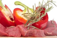 Het Vlees van het rundvlees Stock Fotografie