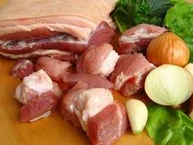 Het vlees van het varken Royalty-vrije Stock Foto