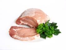 Het vlees van het varken Stock Foto