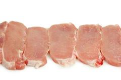 Varkensvleesvlees stock afbeelding