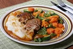 Het Vlees van O van het brood Stock Afbeeldingen