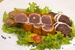 Het vlees van Rulet Stock Foto's