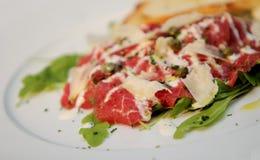 Het vleesvoedsel van het rundvlees Stock Afbeelding