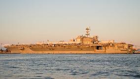 Het vliegdekschip van USS George Washington Stock Foto's