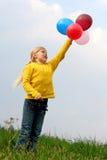 Het vliegen aan hemel Royalty-vrije Stock Afbeelding