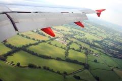 Het vliegen aan uw bestemming Royalty-vrije Stock Fotografie
