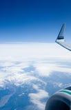 Het vliegen bij de Rand stock fotografie