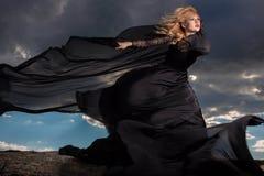 Het vliegen in de wind Stock Fotografie