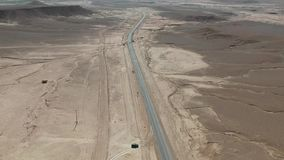 Het vliegen dichtbij AIT-Ben-Haddou in Marokko met hierboven Hommel - Unesco AIT-Ben-Haddou van