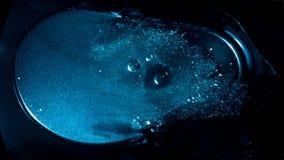 Het vliegen door stergebieden in diepe ruimte stock footage