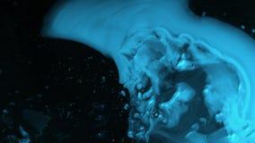 Het vliegen door stergebieden in diepe ruimte stock illustratie