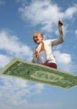 Het vliegen economie stock afbeeldingen