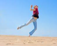 Het vliegen in een droom Royalty-vrije Stock Fotografie