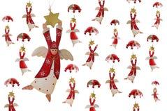 Het vliegen engelen vector illustratie