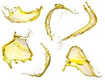 Het vliegen gele plonseninzameling Stock Afbeelding