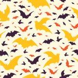 Het vliegen Halloween Knuppelsvector stock illustratie