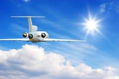 Het vliegen in hoge hemel Royalty-vrije Stock Fotografie