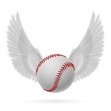 Het vliegen honkbal Royalty-vrije Stock Foto