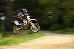 Het vliegen moto Royalty-vrije Stock Foto